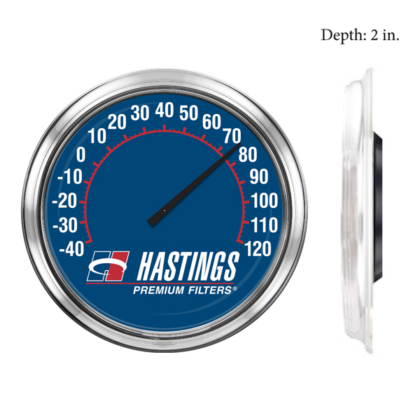 16 inch customized thermometer